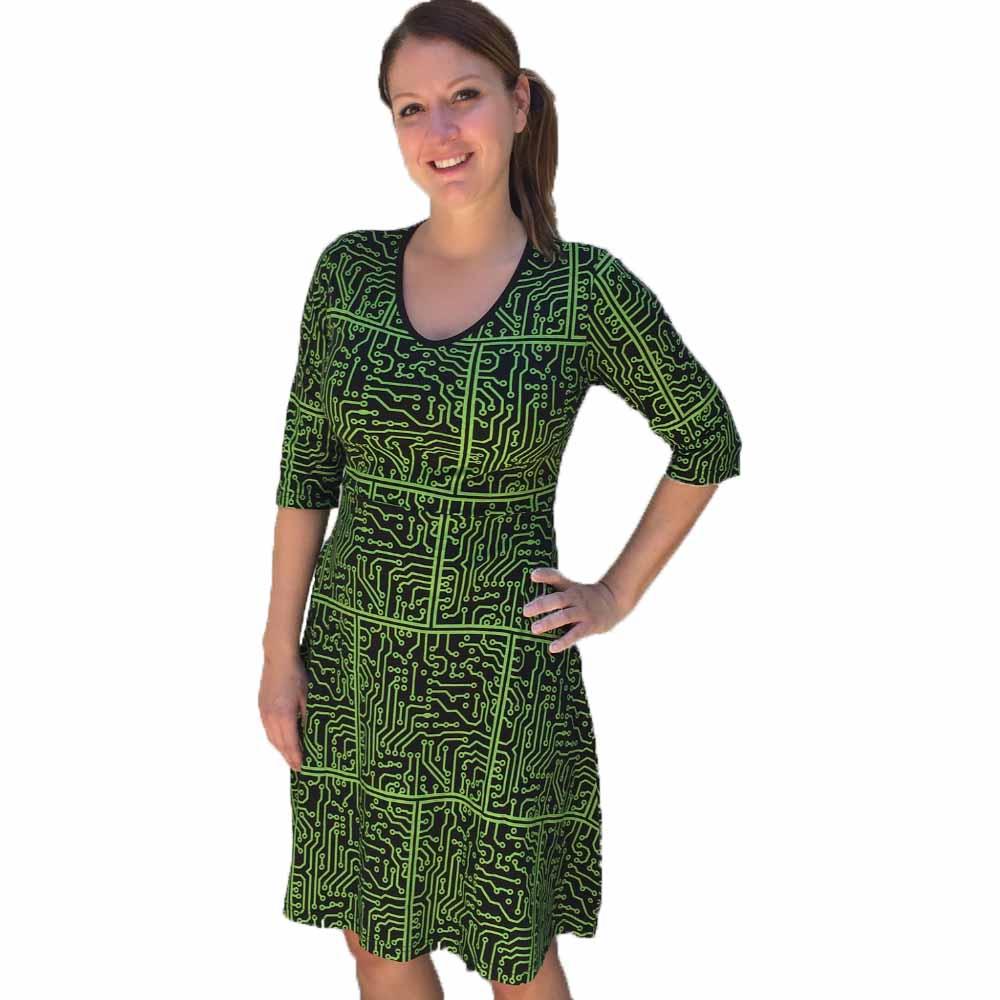 Circuit Board Dress