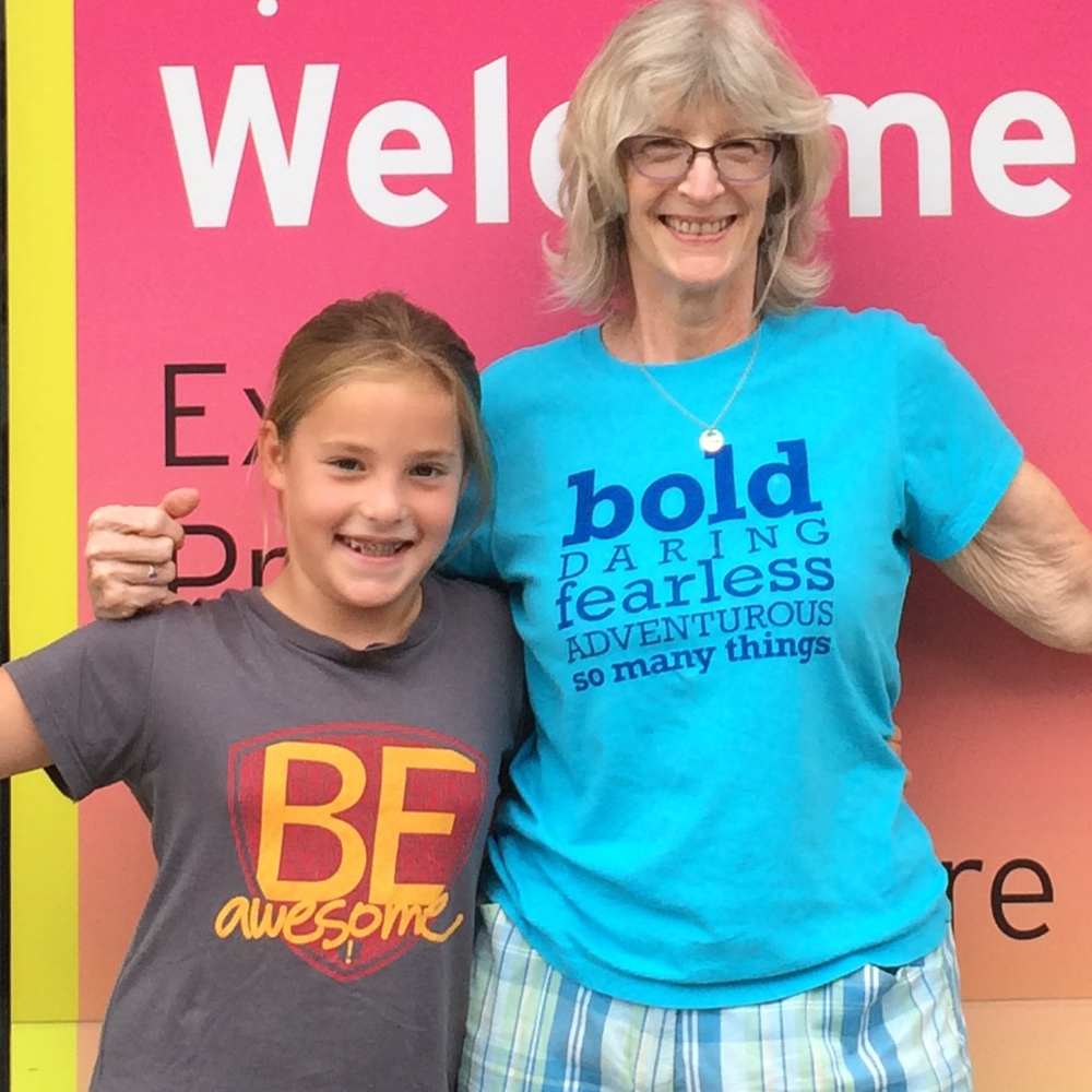 Be Awesome & Be Bold (adult sizes!)