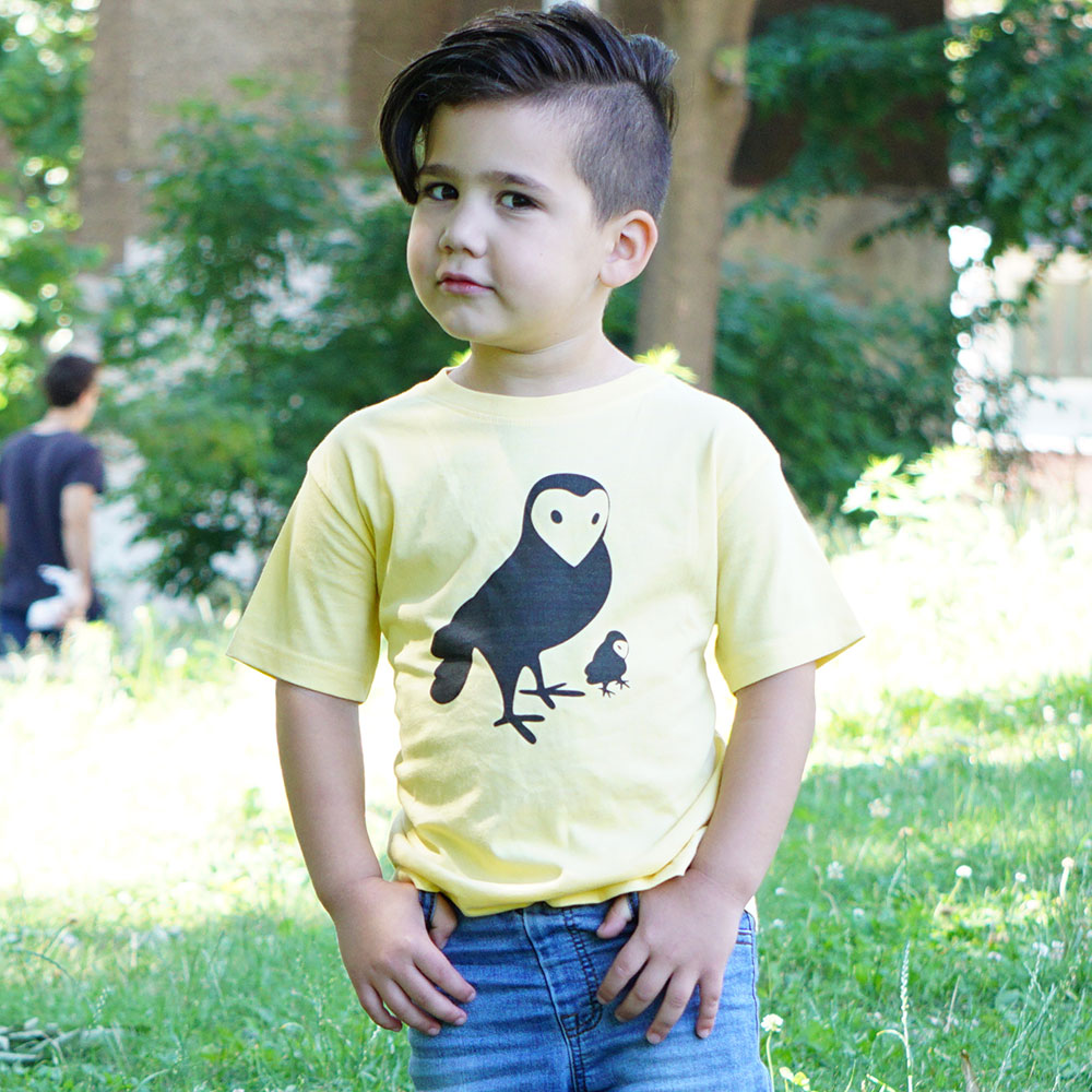 Owl Tee by Jill and Jack Kids
