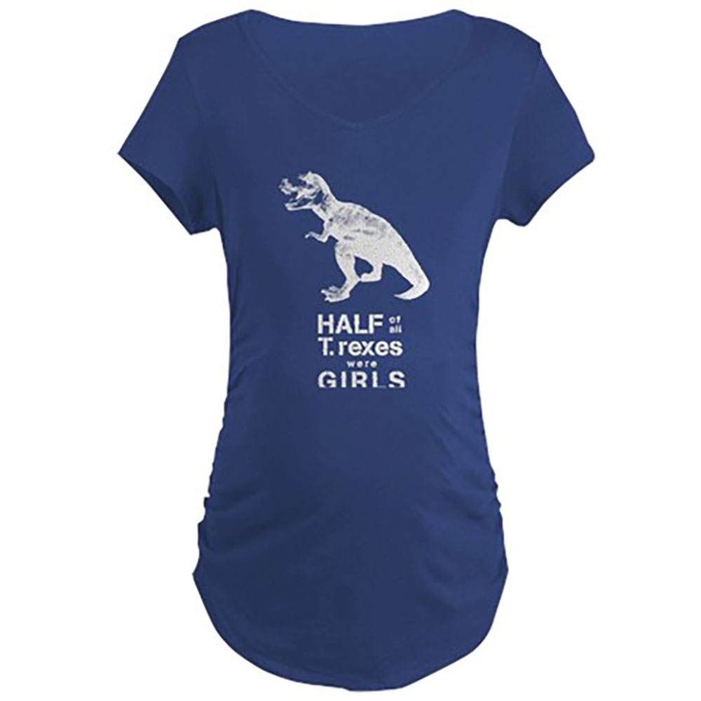 T. rex Maternity Tee by Jill and Jack Kids