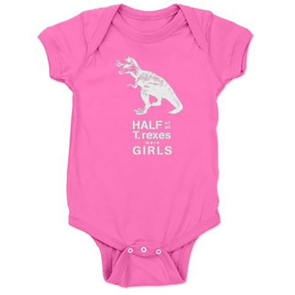 T. rex Baby Bodysuit by Jill and Jack Kids