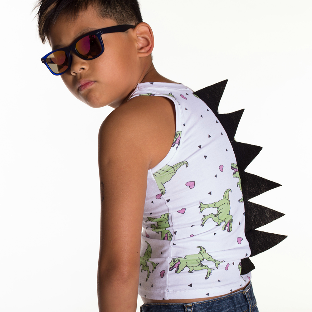Must Love Dinosaurs Tank Top by Mitz Accessories