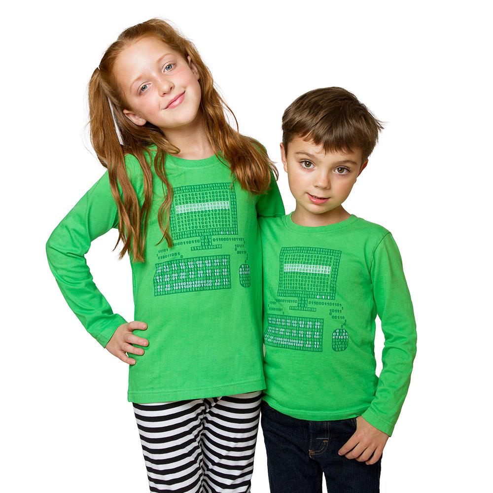 Binary Code Computer T-Shirt