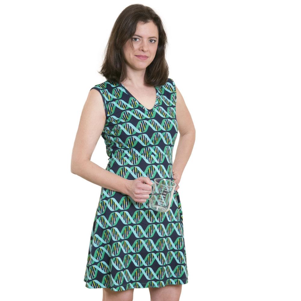 DNA Stripes Dress