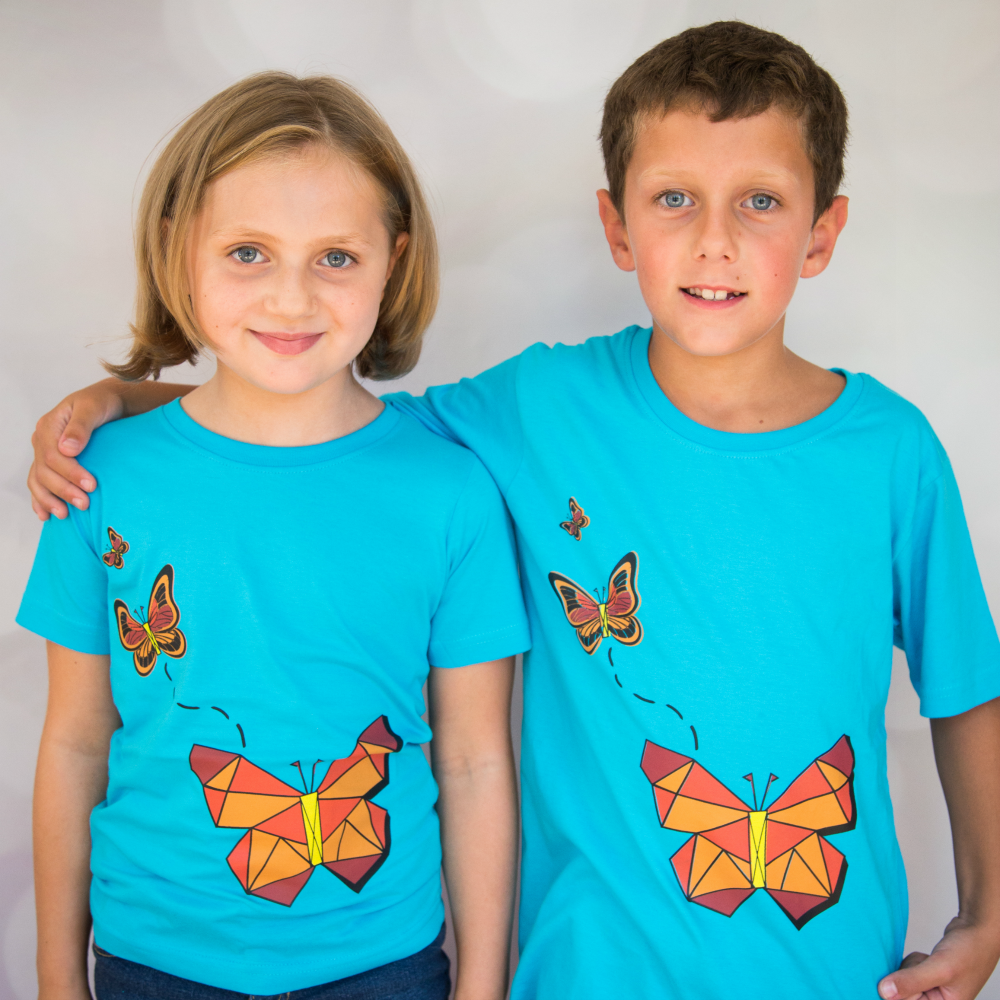 Geometric Butterfly T-Shirt