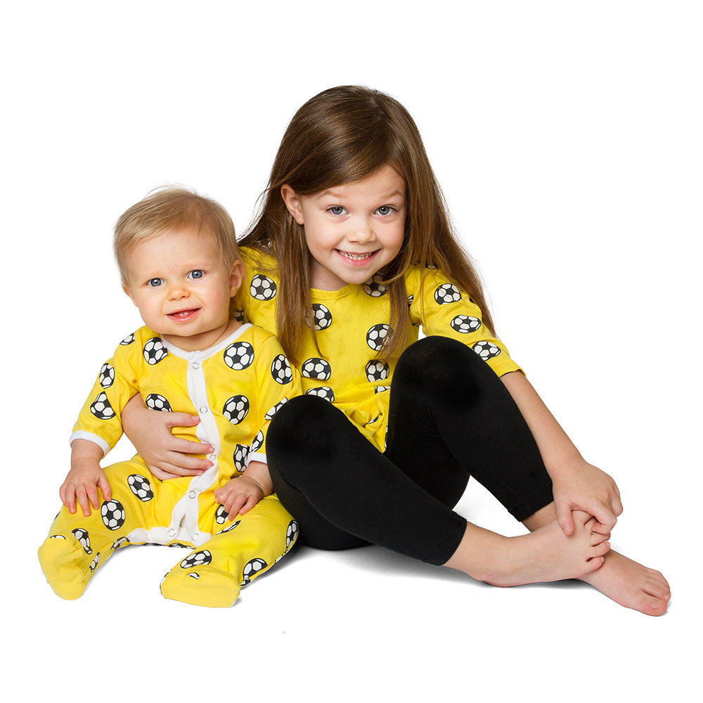 Soccer Ball Baby Jumpsuit