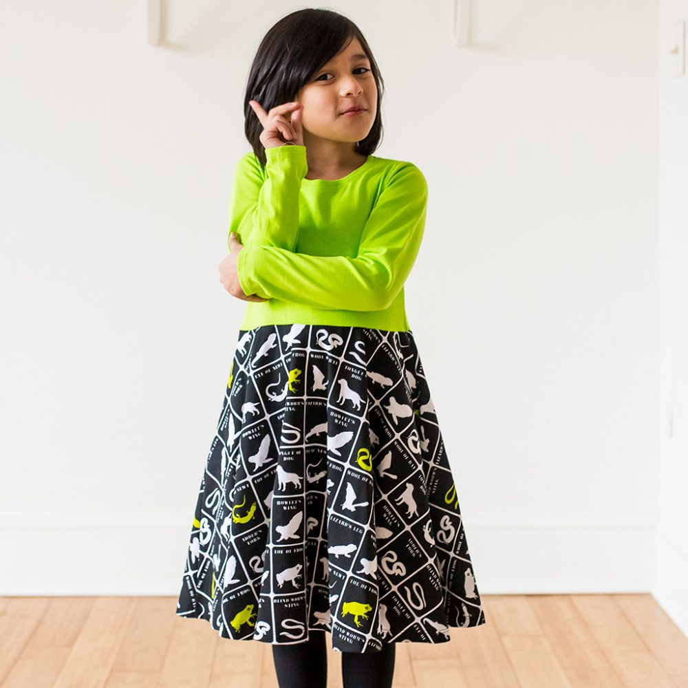 Macbeth Reptiles and Amphibians Twirly Dress