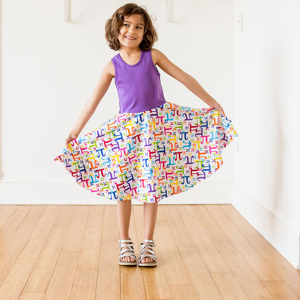 """Pi in the Sky"" Pi Play Dress by Princess Awesome"