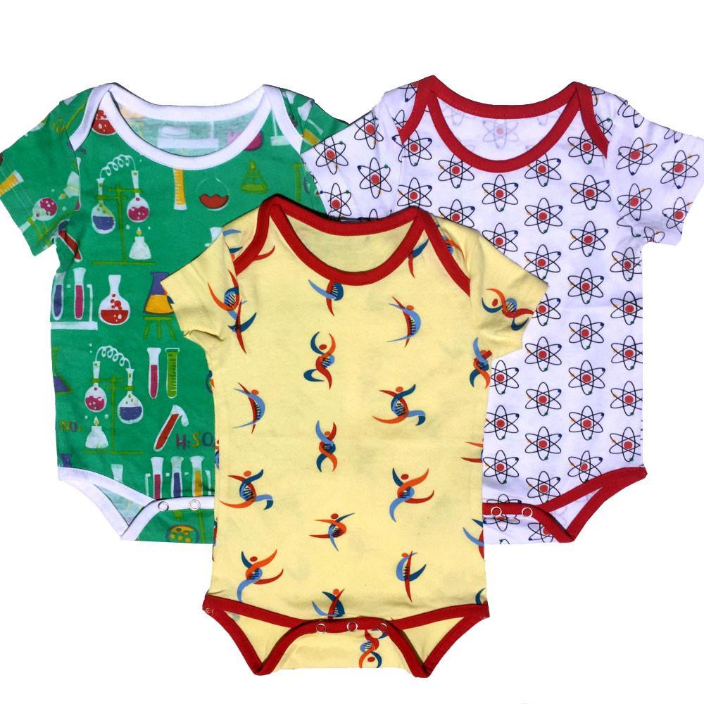 Budding Scientist Baby Bodysuit Bundle