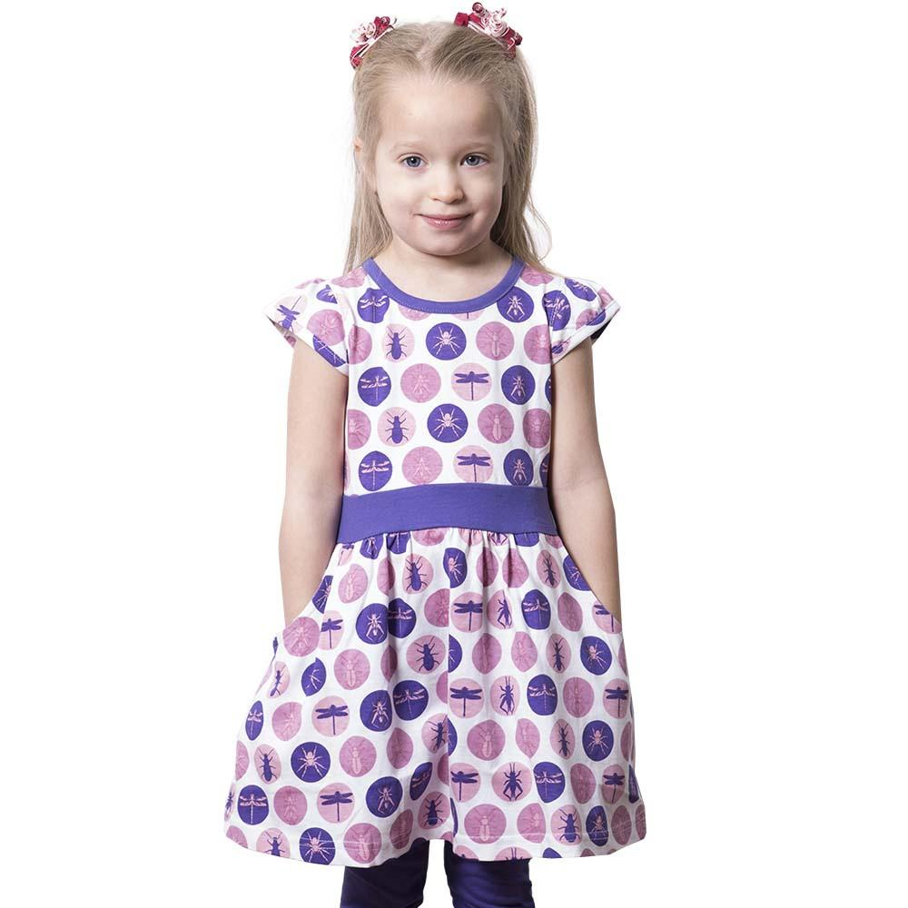 Bugs Polka Dots Fit & Flare Dress