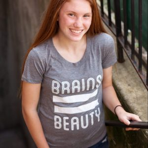 """Brains = Beauty"" by Clever Belle"