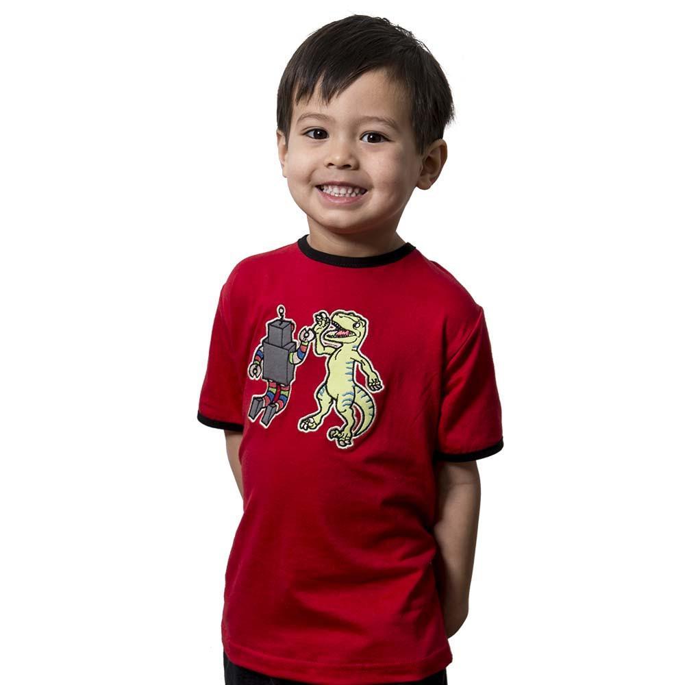 Robot-Dino High Five Kids T-Shirt