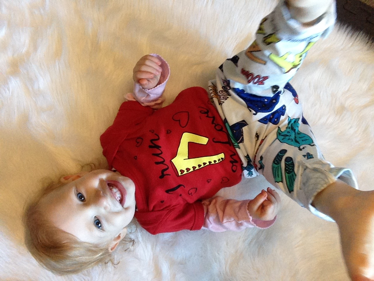 I Run on Love Superheroes - Infant and Toddler One-Piece/Body Suit