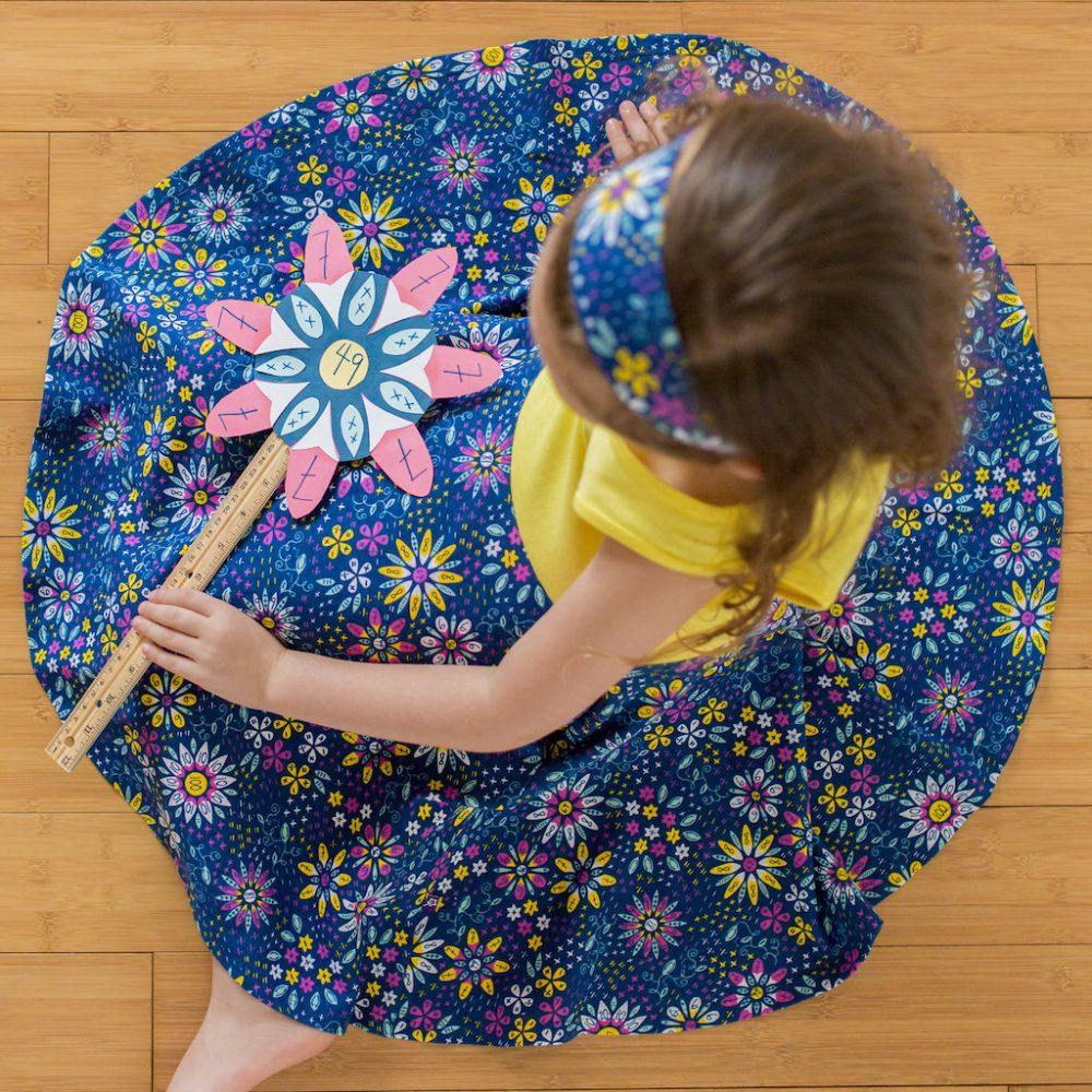 Math Flowers Twirly Play Dress