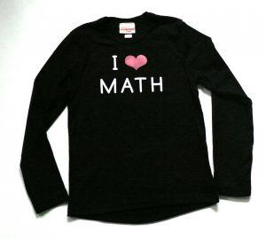 I Love Math Tee