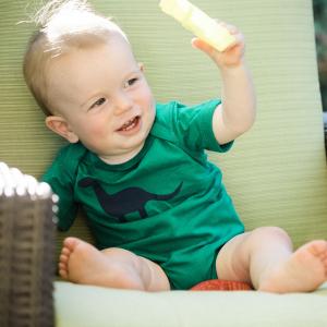 Apatosaurus Infant Bodysuit