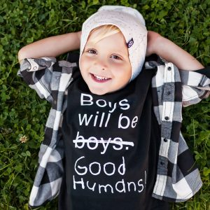 Boys Will Be Good Humans